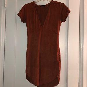 Forever 21 Deep V-Neck Dress